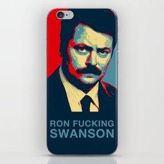 Ron F***ing Swanson iPhone & iPod Skin