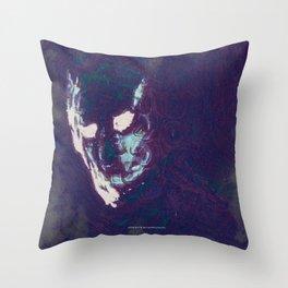 Mister Mist Throw Pillow