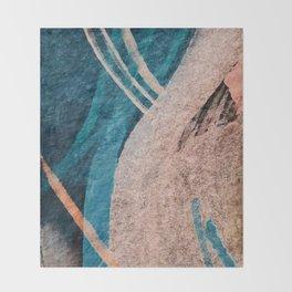 Dark Grace [1]: an abstract watercolor by Alyssa Hamilton Art Throw Blanket