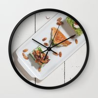 arab Wall Clocks featuring Arab Delights by visualspectrum