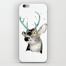 Geosafari | Deer (White) iPhone & iPod Skin