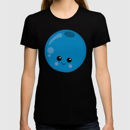 Kawaii Fruit Kawaii Blueberry Cute Cartoon Fruit T-shirt