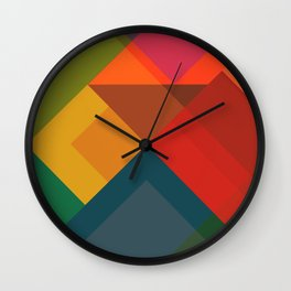 Abstract Composition 632 Wall Clock