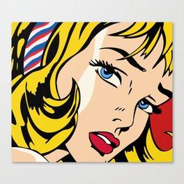 Ribbon Girl (1965) Canvas Print