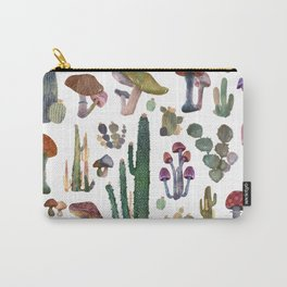 Cactus and Mushrooms NEW!!! Carry-All Pouch