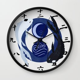 Avatar The Last Airbender Water Clock Face Wall Clock