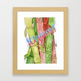 Azucar! Framed Art Print