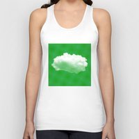 cloud Tank Tops featuring Cloud by Mr and Mrs Quirynen