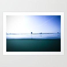 The Oceanside Pier Art Print