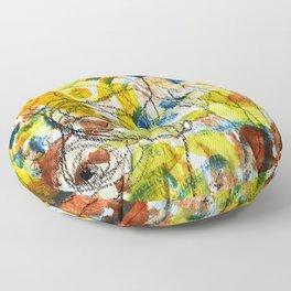 Carousel and Sunshine Floor Pillow
