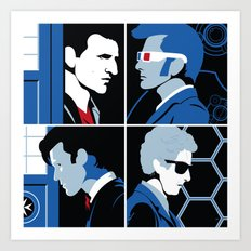 The 4 Doctors (2005-2018) Art Print