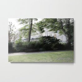 The Redcliff Square Gardens in London Metal Print