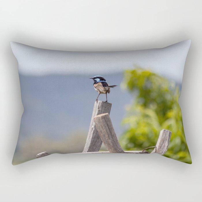 Tiny strength Rectangular Pillow