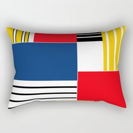 Abstract pattern . Credo . Rectangular Pillow