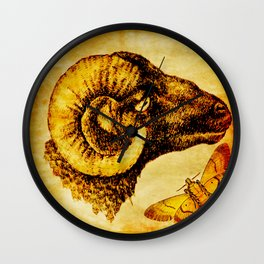 The mystic sheep Wall Clock
