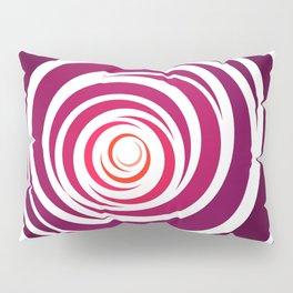 Spinnin Round Crimson Pillow Sham