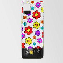 Pop Flowers Android Card Case