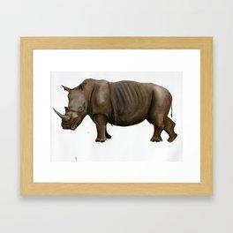 Rhinoceros I Framed Art Print