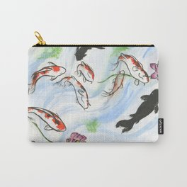 Feng Shui - 9 Lucky Carp Carry-All Pouch