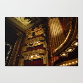 Theatre Canvas Print