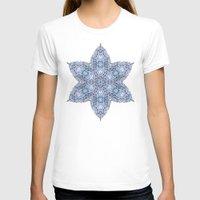snowflake T-shirts featuring Snowflake by Awispa