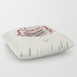 Dream On Floor Pillow
