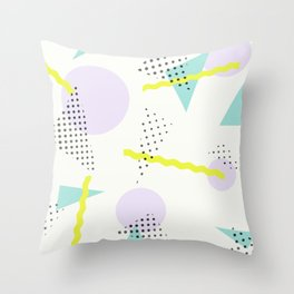 Bobby 90s Graphic Throw Pillow