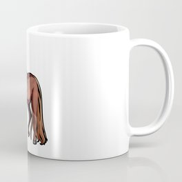 Morgan Horse Pony Riding Coffee Mug