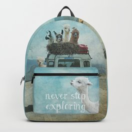 NEVER STOP EXPLORING II SUMMER EDITION Backpack