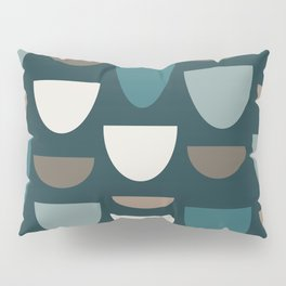 Turquoise Bowls Pillow Sham