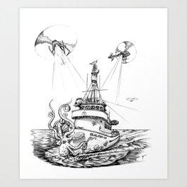 QUALIFIER 105 Art Print