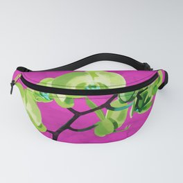 Orchid, green Fanny Pack
