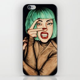 Vamp iPhone Skin