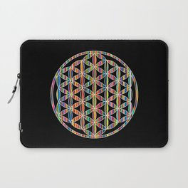 Flower of Life Colored | Kids Room | Delight Laptop Sleeve