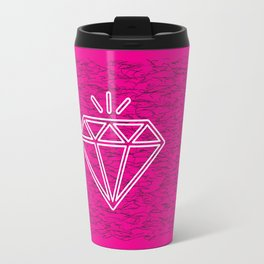 diamond magenta Travel Mug