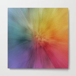 Colourburst Metal Print