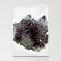 mineral Stationery Cards featuring Mineral by .eg.