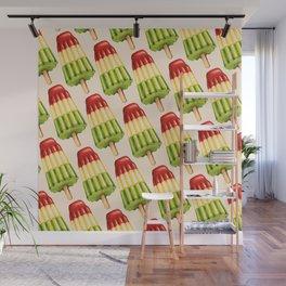 Popsicle Pattern - TropiPop Wall Mural