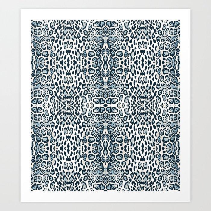 SNOW LEOPARD Kunstdrucke