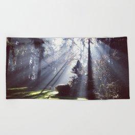 Sun Beams Beach Towel
