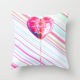 Lollipops Throw Pillow