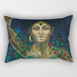The Earth Mother Goddess of Life Rectangular Pillow
