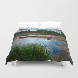 A Stop Along the Way Duvet Cover