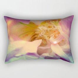 Secret Garden   Japanese rose  Rectangular Pillow