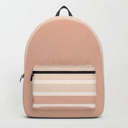 Lines Rose Backpack