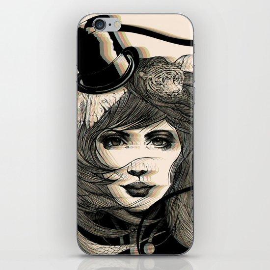 I'm Running Away to the Circus iPhone Skin