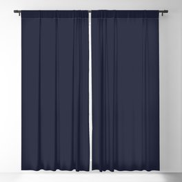 Evening Blue Solid Color Trend Autumn Winter 2019 2020 Blackout Curtain