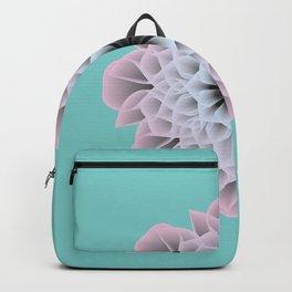 Digital Flower of Life (Zen) Backpack