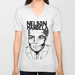 Remember Mandela Unisex V-Neck