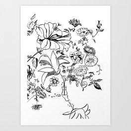 The Florist Art Print